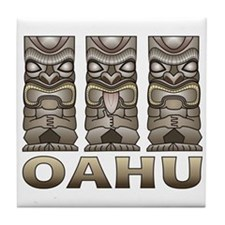 Oahu Tiki Tile Coaster