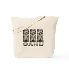 Oahu Tiki Tote Bag