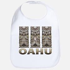 Oahu Tiki Bib