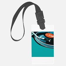 Turntable Vinyl DJ Luggage Tag