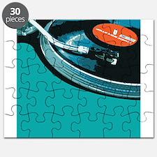 Turntable Vinyl DJ Puzzle