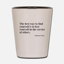 Find Yourself Shot Glass