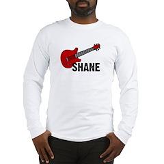Guitar - Shane Long Sleeve T-Shirt