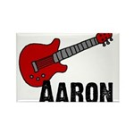 Guitar - Aaron Rectangle Magnet