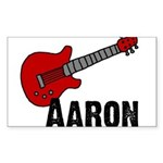 Guitar - Aaron Rectangle Sticker