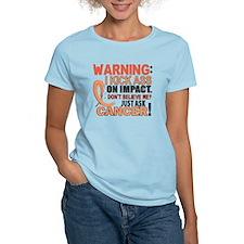Kick Ass On Impact Uterine Cancer T-Shirt