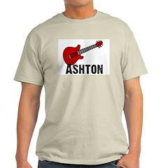 Guitar - Ashton Ash Grey T-Shirt