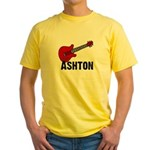 Guitar - Ashton Yellow T-Shirt