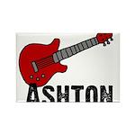 Guitar - Ashton Rectangle Magnet