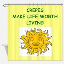 CREPES Shower Curtain
