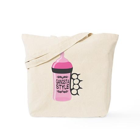 gangsta bottle pink Tote Bag