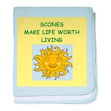 SCONES baby blanket