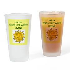 SALSA Drinking Glass