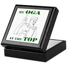 Oga at the top Keepsake Box
