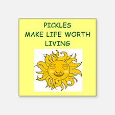 PICKLES Sticker