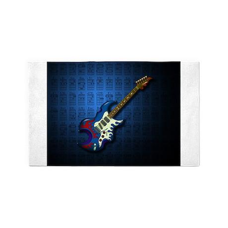 KuuMa Guitar 02 (B) 3'x5' Area Rug