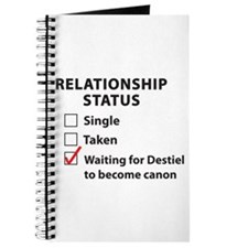 Relationship Canon Destiel Journal