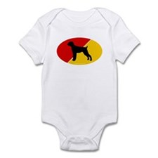 Germany Flag Pointer Infant Bodysuit