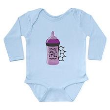 gangsta bottle purple Body Suit