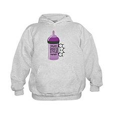 gangsta bottle purple Hoodie