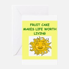 FRUITCAKE Greeting Card