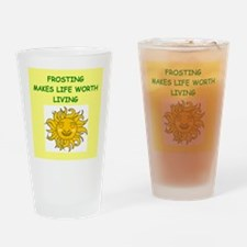 FROSTING Drinking Glass