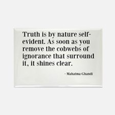 Truth Rectangle Magnet (10 pack)