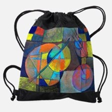 Funny Los angeles modern quilt guild Drawstring Bag
