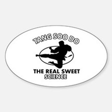 Tang Soo Do the real sweet science Decal