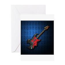 KuuMa Guitar 03 (B) Greeting Card