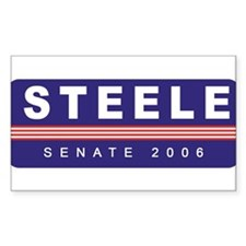 Support Michael Steele Rectangle Decal