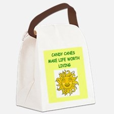 CANDYCANES Canvas Lunch Bag