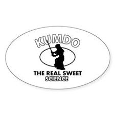 Kumdo the real sweet science Decal