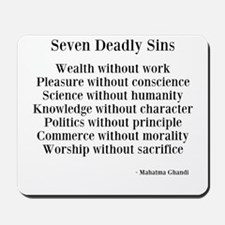 Deadly Sins Mousepad