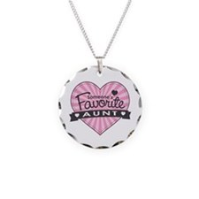 Favorite Aunt Pink Necklace