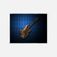 KuuMa Guitar 04 (B) 5'x7'Area Rug