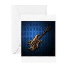 KuuMa Guitar 04 (B) Greeting Card