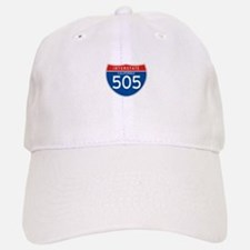 Interstate 505 - CA Baseball Baseball Cap
