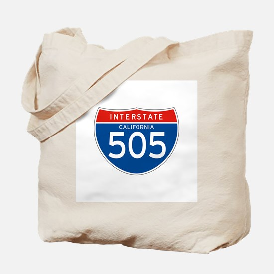 Interstate 505 - CA Tote Bag
