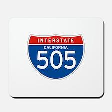 Interstate 505 - CA Mousepad