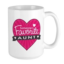 Favorite Aunt Pink Mug