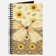 Rustic Sunflowers Journal