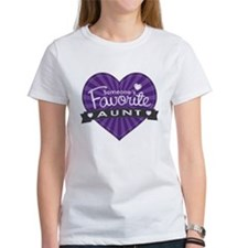 Favorite Aunt Purple Tee