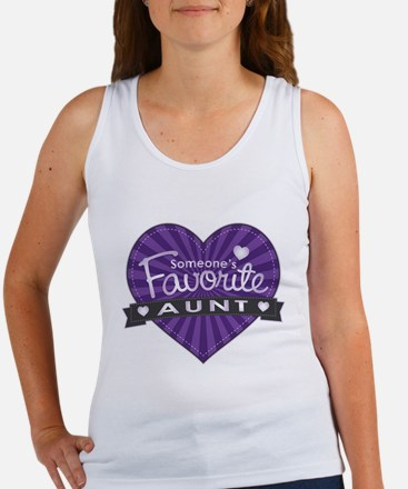 Favorite Aunt Purple Women's Tank Top