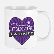 Favorite Aunt Purple Mug