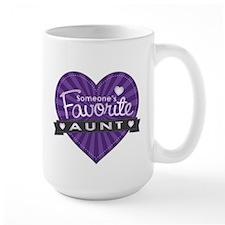 Favorite Aunt Purple Mug