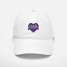 Favorite Aunt Purple Baseball Baseball Cap