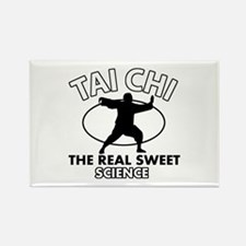Tai Chi the real sweet science Rectangle Magnet (1