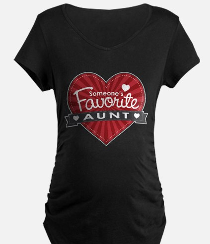 Favorite Aunt Red T-Shirt