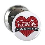 Favorite aunt Buttons